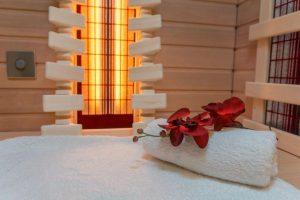 Инфракрасная сауна используется для снятия боли