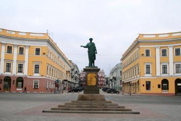 Памятник Дюку де Ришелье