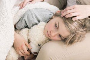 Ребенок заражен лямблиями