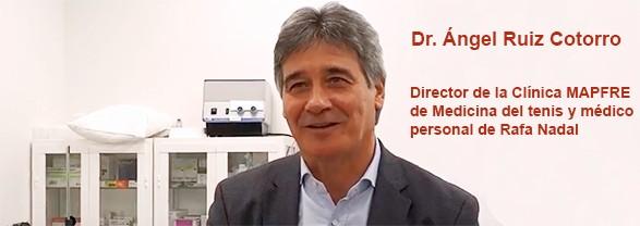 Анхель Руис Которро, специалист по спортивной медицине