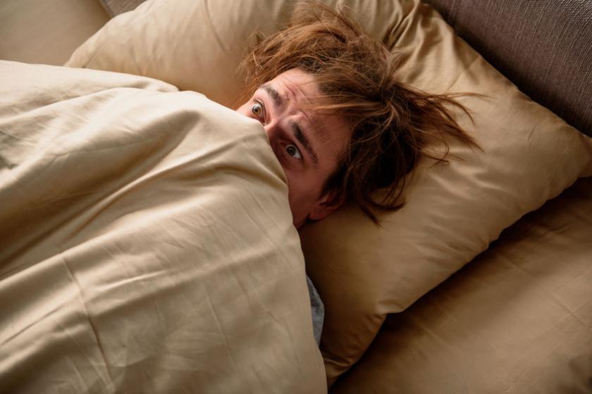 Человек с большим страхом заснуть