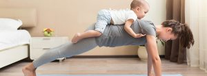 Занимайтесь спортом с малышом