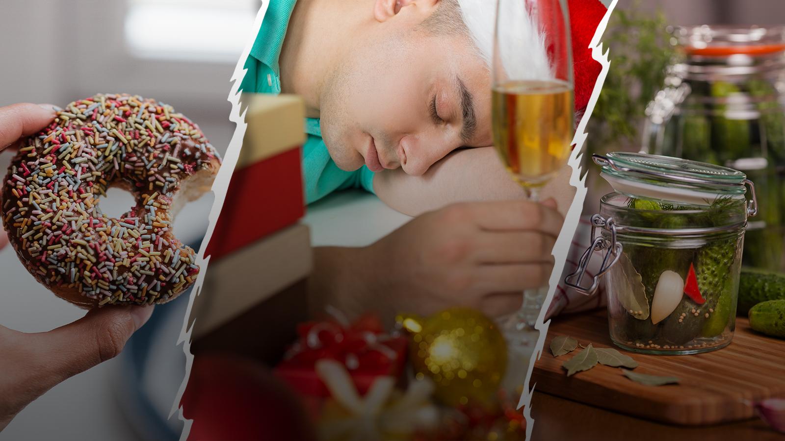 Оливье— спаситель. Что пить и есть, чтобы встретить новогоднее утро без похмелья