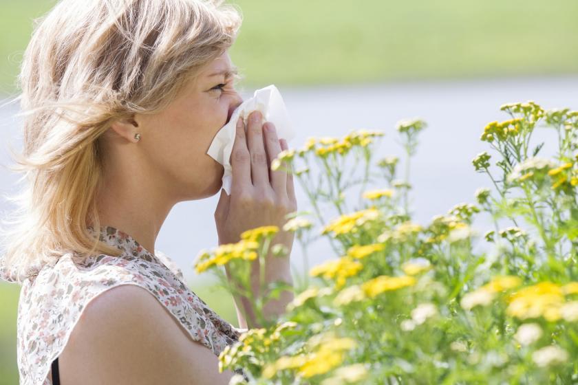 Пациент с проблемой аллергии