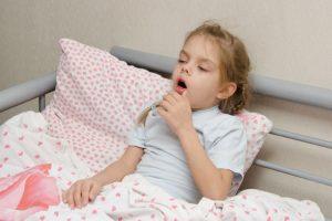 Пациент с проблемой сухого кашля