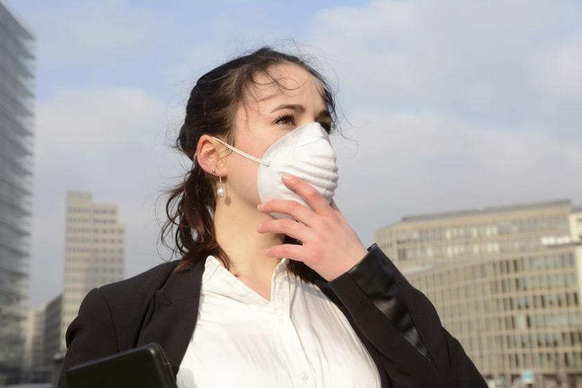 Загрязненный воздух