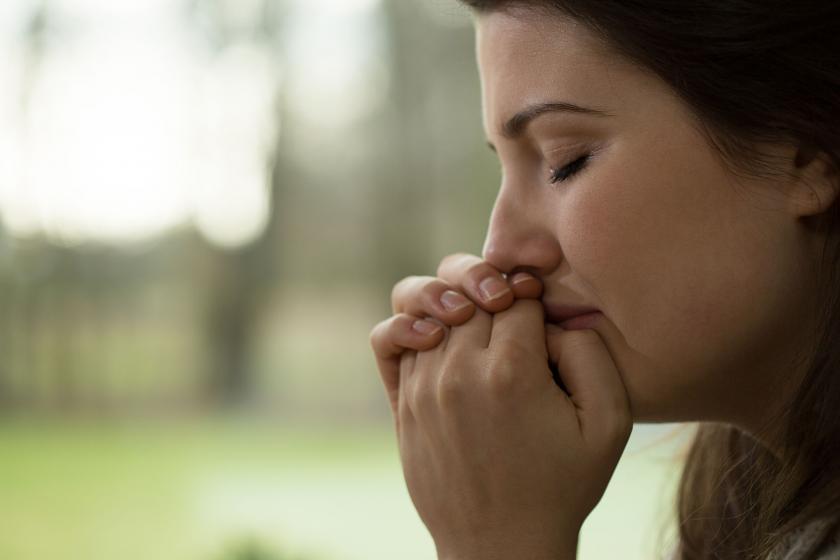 Женщина с депрессией