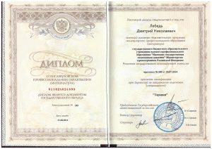 Лебедь Дмитрий Николаевич - Терапевт
