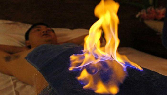 Лечение простатита огнем
