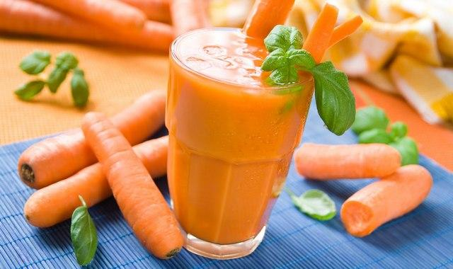 Морковный сок для здоровья простаты
